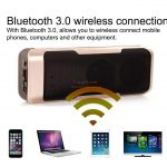 mobile power bank Bluetooth Speaker with double sp61