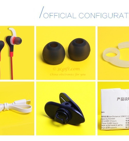 Bluetooth stereo headset CSR4.1 double-Ear 72263