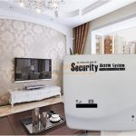 GSM infrared alarm home security system40383
