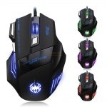 LED Optical USB Wired Gaming Mouse123